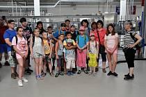 Ředitelství zřídel v Bílině ukázalo o víkendu své provozy návštěvníkům při Dni otevřených dveří v rámci akce Evropské fondy pomáhají.