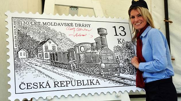 Moldavská horská dráha je na poštovní známce.