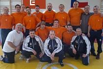Zápasníci v Teplic v Brně