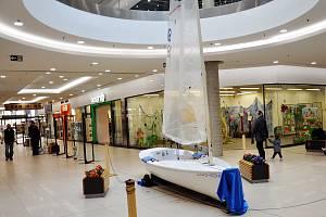 V nákupním centru Fontána v Teplicích probíhá výstava o Jeníkovu.