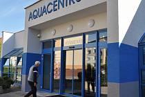 Aquacentrum v Teplicích.