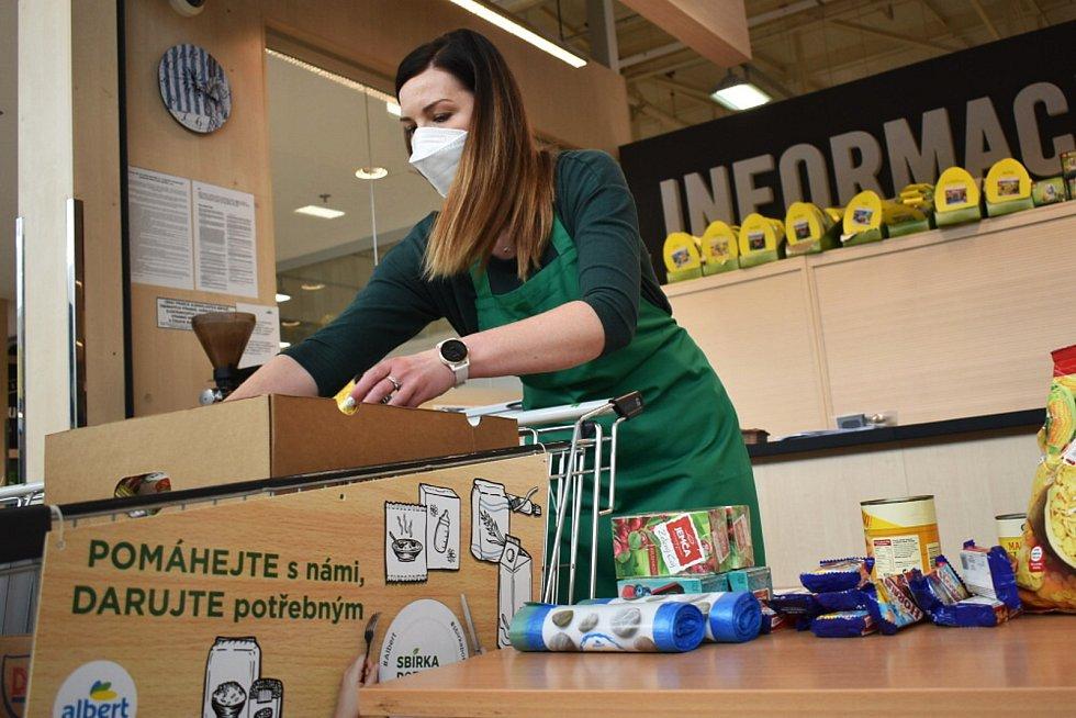 Potravinová sbírka pro Klokánek v Albertu v Olympii v Srbicích