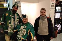 David Duchek (vlevo) se svým tchánem Miloslavem Hanzelem