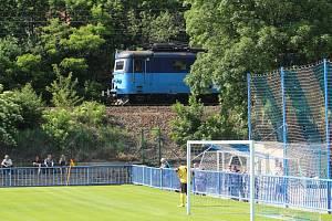 Fotbalový stadion v Bílině
