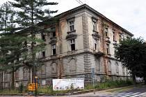 Bývalá poliklinika v Lipové ulici v Teplicích.