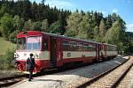 Motorové vozy řady 810, přezdívané Orchestrion, na šumavských lokálkách.