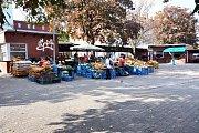 Tržní náměstí v Teplicích - současnost.