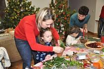 Při návštěvě skleníků jsme si připomněli vánoční zvyky