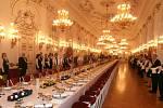 Hotelovka obsluhovala na Pražském hradě.