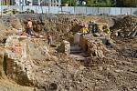 Archeologický průzkum, 2012.