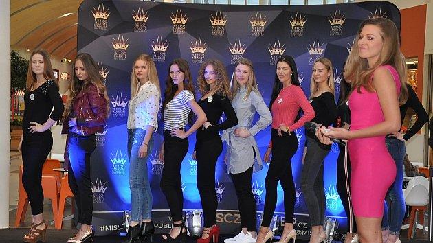 Casting na MISS CZECH REPUBLIC 2018 v Teplicích