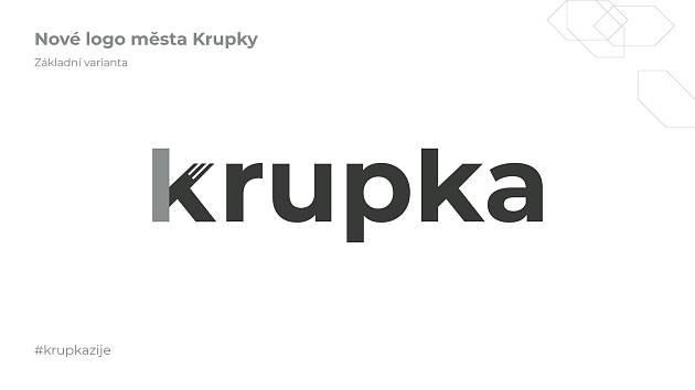 Nové logo města Krupka
