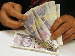 Peníze, ilustrační snímek.