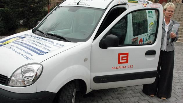 Sociální automobil pro bystřanský domov důchodců