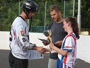 Hokejbalový turnaj v Krupce