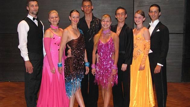 Tanečníci z TK Styl Dance Teplice
