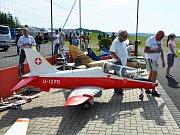 Velký modelářský letecký den v Modelparku Suché.
