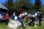 Přeshraniční piknik na Žebráckém rohu.