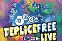 Plakátek, Teplice free live.
