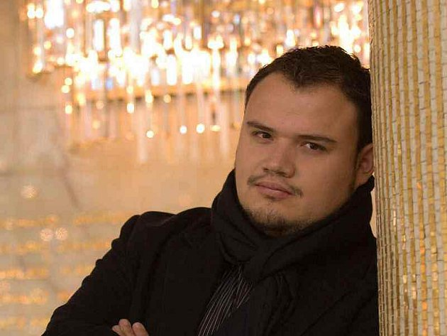 Mexický tenorista David Lomeli
