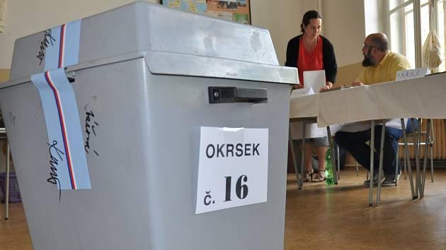 Eurovolby na Teplicku, první den.