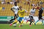 Jakub Emmer odehrál proti Zlínu 22 minut. Rozhodně v nich coby nováček obstál.