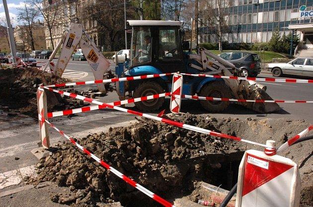Masarykova ulice již prošla několika opravami.