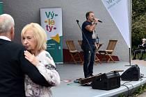 Koncert  v Šanovské mušli v Teplicích.