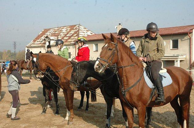 Dům dětí a mládeže Teplice a Jezdecký klub Doubravice připravily na sobotu tradiční ukončení jezdecké sezóny Hubertovou jízdou.