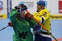 Charitativní hokejbal pro Matyáška