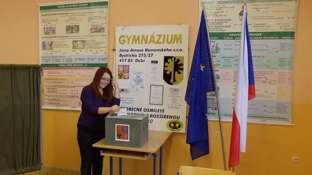 Gymnázium Dubí se zapojilo do projektu studentské prezidentské volby. Na škole v Dubí vyhrál Franz, druhý byl Sobotka a třetí Fischerová.