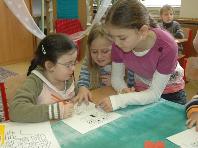 Z pohádky do pohádky - seznámení předškoláků s prostředím školy