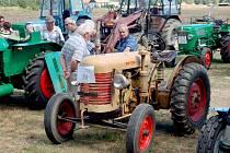 Setkání traktorů v Postřekově.