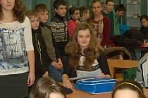 Okresní kolo olympiády v zeměpise v Domažlicích.