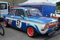 Z jednoho z minulých automobilových závodů do vrchu seriálu EDDA cup.