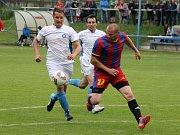 Z utkání FC Dynamo Horšovský Týn a Sokol Černice.