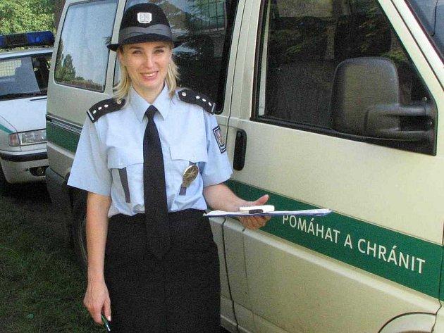 Mluvčí Okresního ředitelství Policie ČR v Domažlicích Vladislava Čejková
