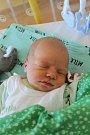 Patrik Mládek z Klenčí pod Čerchovem se narodil v domažlické porodnici 12. února ve 23:30 s váhou 3 120 gramů a 48 centimetry.