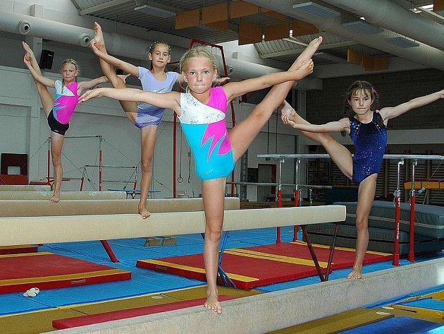 Ilustrační snímek gymnastek.