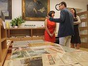 Na zahájení dorazily spřátelené instituce - knihovny, muzea, MKS a další.
