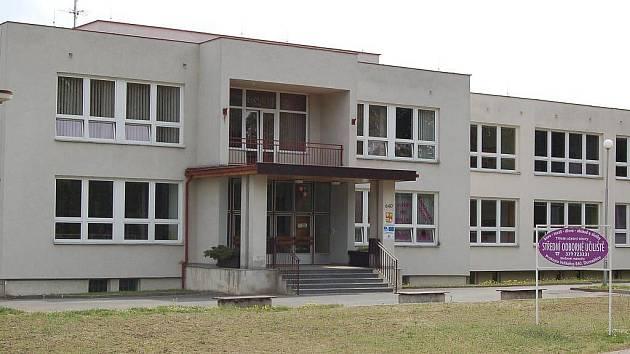 Střední odborné učiliště v Domažlicích.
