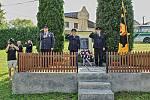 Z oslav 120 let od založení sboru dobrovolných hasičů v Chodské Lhotě.