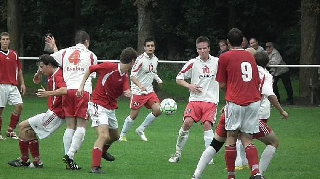 Výhra fotbalistů FK Holýšov v Lubech.