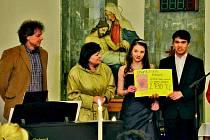 Charitativní koncert Koinonia ve Staňkově.
