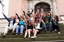 Mladí divadelníci z Česka a Německa.