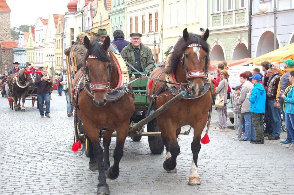Svatováclavská jízda v Domažlicích.