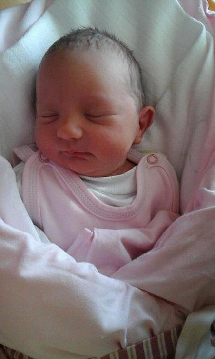 Michaela Lepiešová z Mrákova se narodila 2. října 2018 v domažlické porodnici s váhou 2590 gramů a mírou 45 centimetrů.