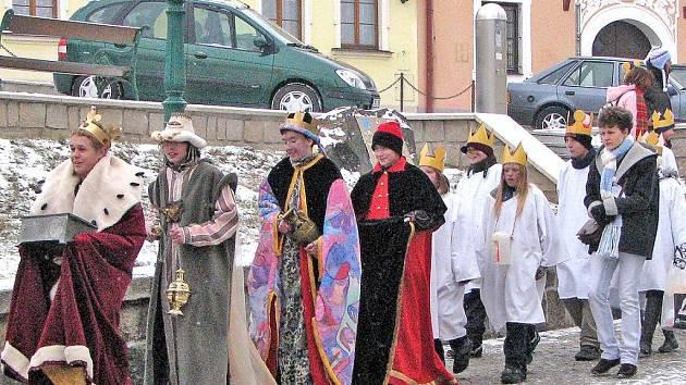 Dětem převlečeným za Tři krále se na Horšovskotýnsku a Bělsku podařilo v letošní sbírce vybrat 52 448 korun.