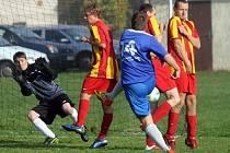 Okresní přebor ve futsalu. Utkání mezi FC Mnichov 2001 a Ajax Staňkov B a Notor Club Nový Kramolín.