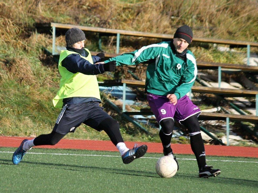 Povánoční fotbalový turnaj v Bělé nad Radbuzou.